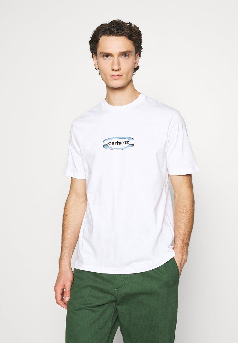 Carhartt WIP - CHROME - Print T-shirt - white