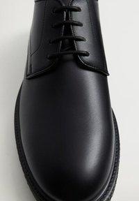 Mango - BLUELIGH - Smart lace-ups - schwarz - 5