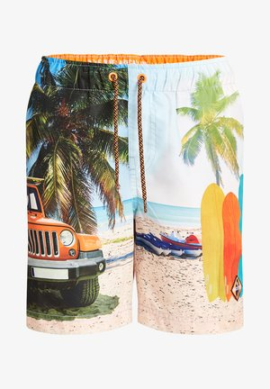 Swimming shorts - multi coloured