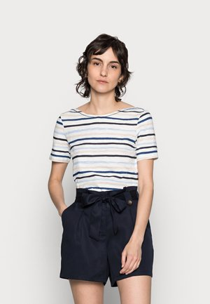 Print T-shirt - multi/rainbow blue