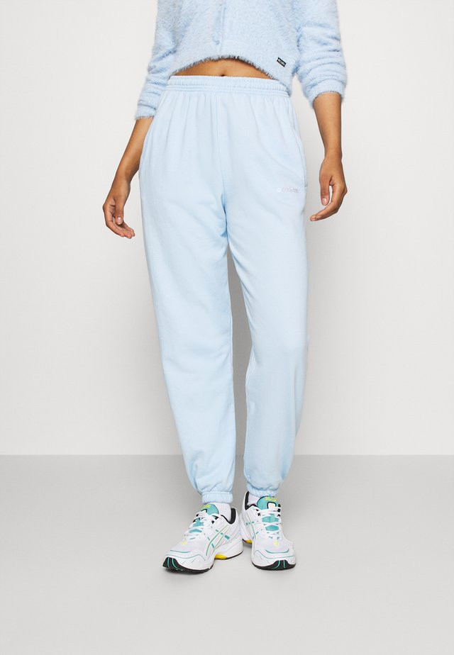 ZIA PANTS WOMEN - Tracksuit bottoms - sky blue