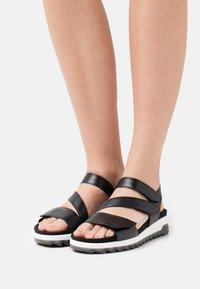 Gabor Comfort - Sandalen met plateauzool - schwarz - 0