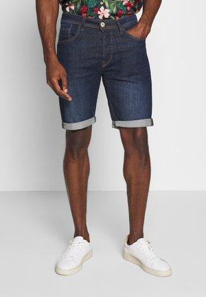 MOLOKO - Szorty jeansowe - dark blue