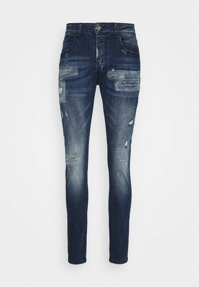 MIRANO CARROT FIT - Jeans slim fit - blue