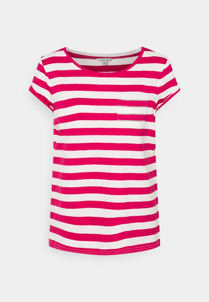 comma casual identity - Print T-shirt - red