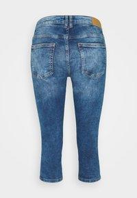 edc by Esprit - CAPRI - Denim shorts - blue denim - 1
