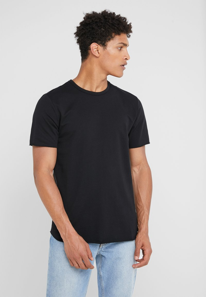 rag & bone - HUNTLEY TEE - T-shirt basic - black