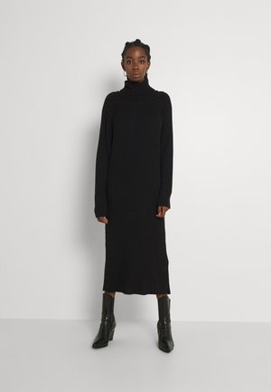 YASMAVI ROLL NECK DRESS - Jumper dress - black