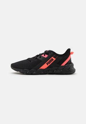 WEAVE XT - Stabilty running shoes - black/pink alert