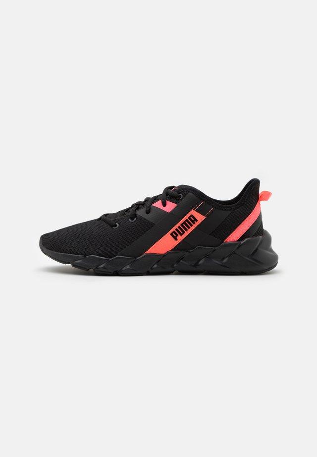WEAVE XT - Stabiliteit hardloopschoenen - black/pink alert