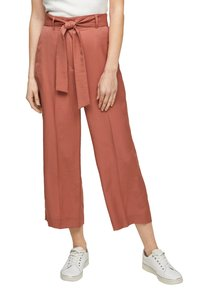 s.Oliver BLACK LABEL - REGULAR FIT - Trousers - dusty apricot - 4