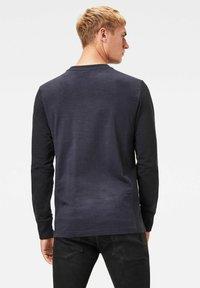 G-Star - MOTAC LOGO - Långärmad tröja - mazarine blue - 1