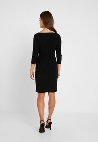 Lauren Ralph Lauren Petite - TRAVA 3/4 SLEEVE DAY DRESS - Etuikjoler - black - 3
