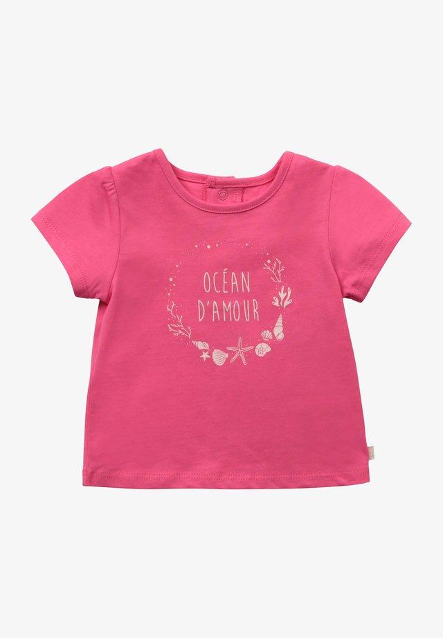 T-shirt imprimé - camelia