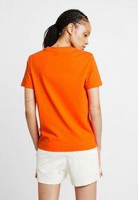 adidas Originals - ADICOLOR TREFOIL GRAPHIC TEE - Print T-shirt - orange - 2