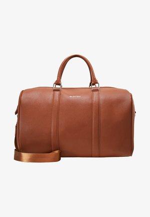 FILIPPO - Weekend bag - dark cognac