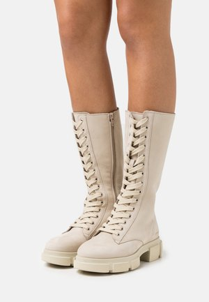 CPH515 - Lace-up boots - nature