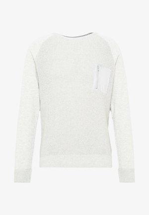 ONSNORIS CREW NECK - Jersey de punto - light grey melange