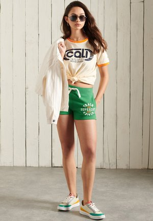 Shorts - galvanised green