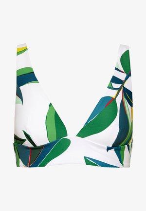 PALM BAY REVO HALTER - Bikini top - white