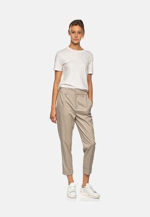 TRUE - Trousers - lt beige