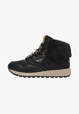 DEAN CITY - High-top trainers - nero
