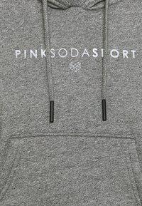 Pink Soda - RUBY CROP HOODIE - Hoodie - grindle/silver - 5