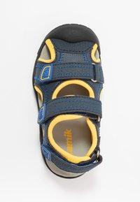 Kamik - SEATURTLE 2 - Walking sandals - navy/citrus/marine/agrumes - 1