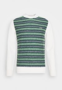 Lacoste LIVE - Pullover - abysm/green/flour - 4