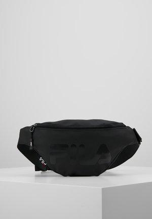 WAIST BAG SLIM - Saszetka nerka - black