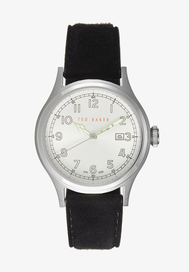 LNGISLA - Watch - black/silver-coloured