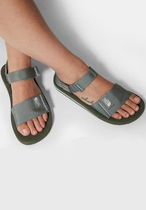 W SKEENA SANDAL - Walking sandals - agave green vintage white