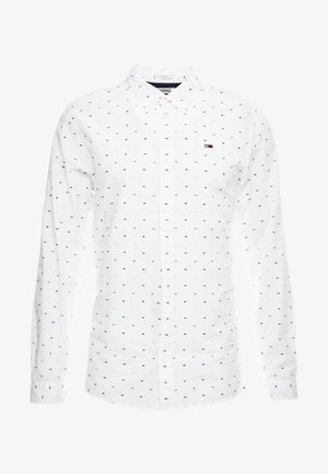 COLORED DOBBY SHIRT - Skjorta - classic white/multi-coloured