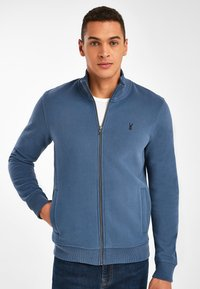 Next - Zip-up sweatshirt - dark blue - 0