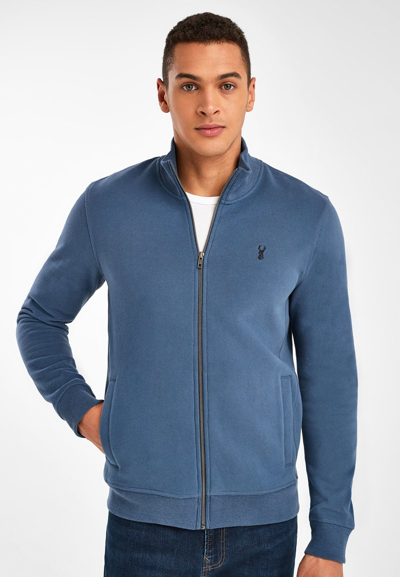 Next - Zip-up sweatshirt - dark blue