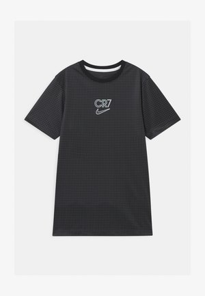 CR7 DRY - Print T-shirt - anthracite/black/iridescent