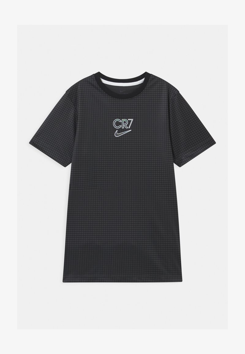 Nike Performance - CR7 DRY - Print T-shirt - anthracite/black/iridescent