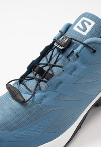 Salomon - SUPERCROSS  BLAST - Trail running shoes - copen blue/white/ebony - 5