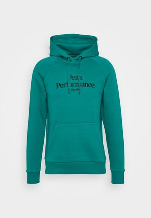 ORIGINAL HOOD - Sweatshirt - ceres green