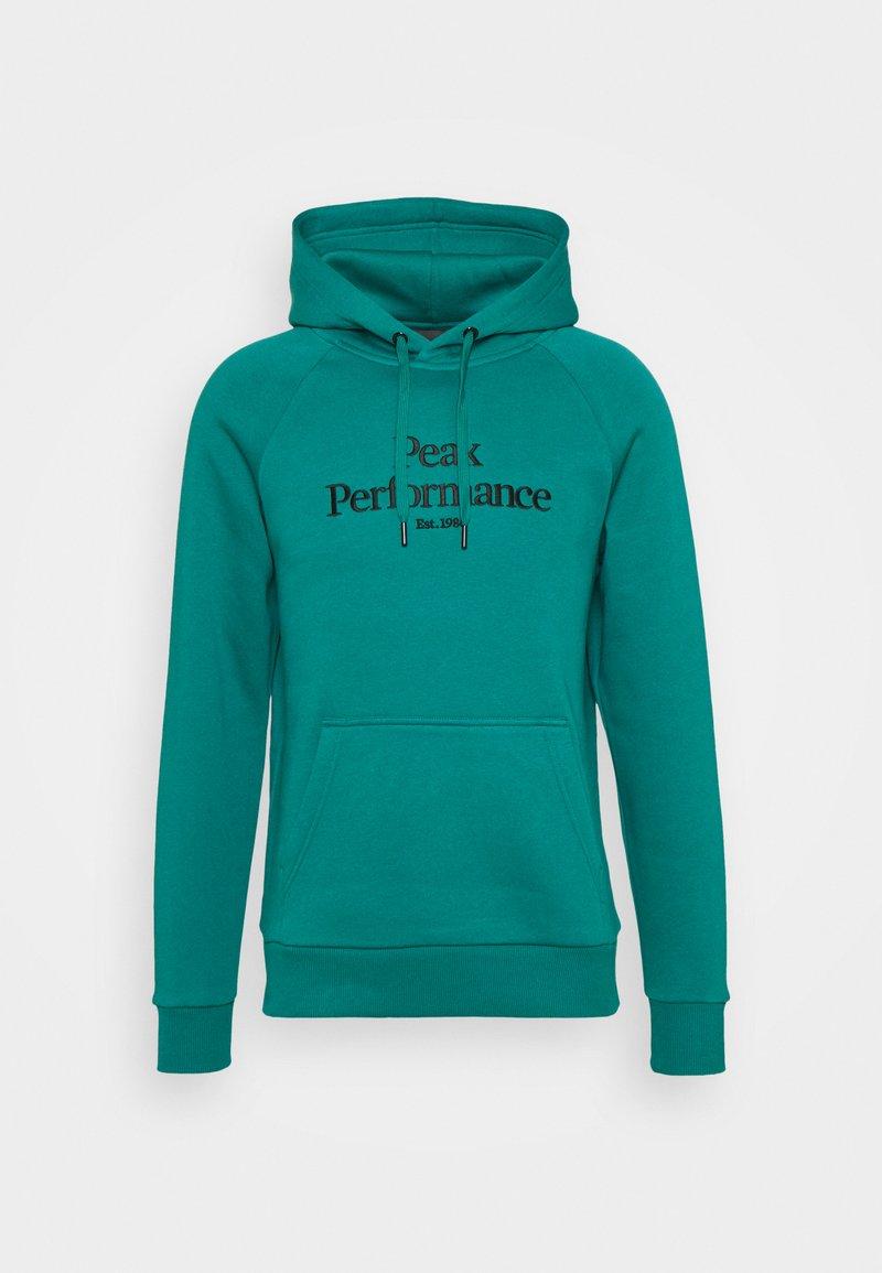 Peak Performance - ORIGINAL HOOD - Sweatshirt - ceres green