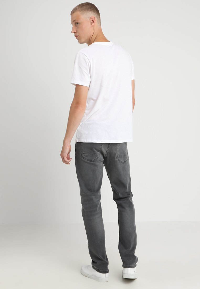 Burton Menswear London - SLIM WASH GREY - Straight leg jeans - grey