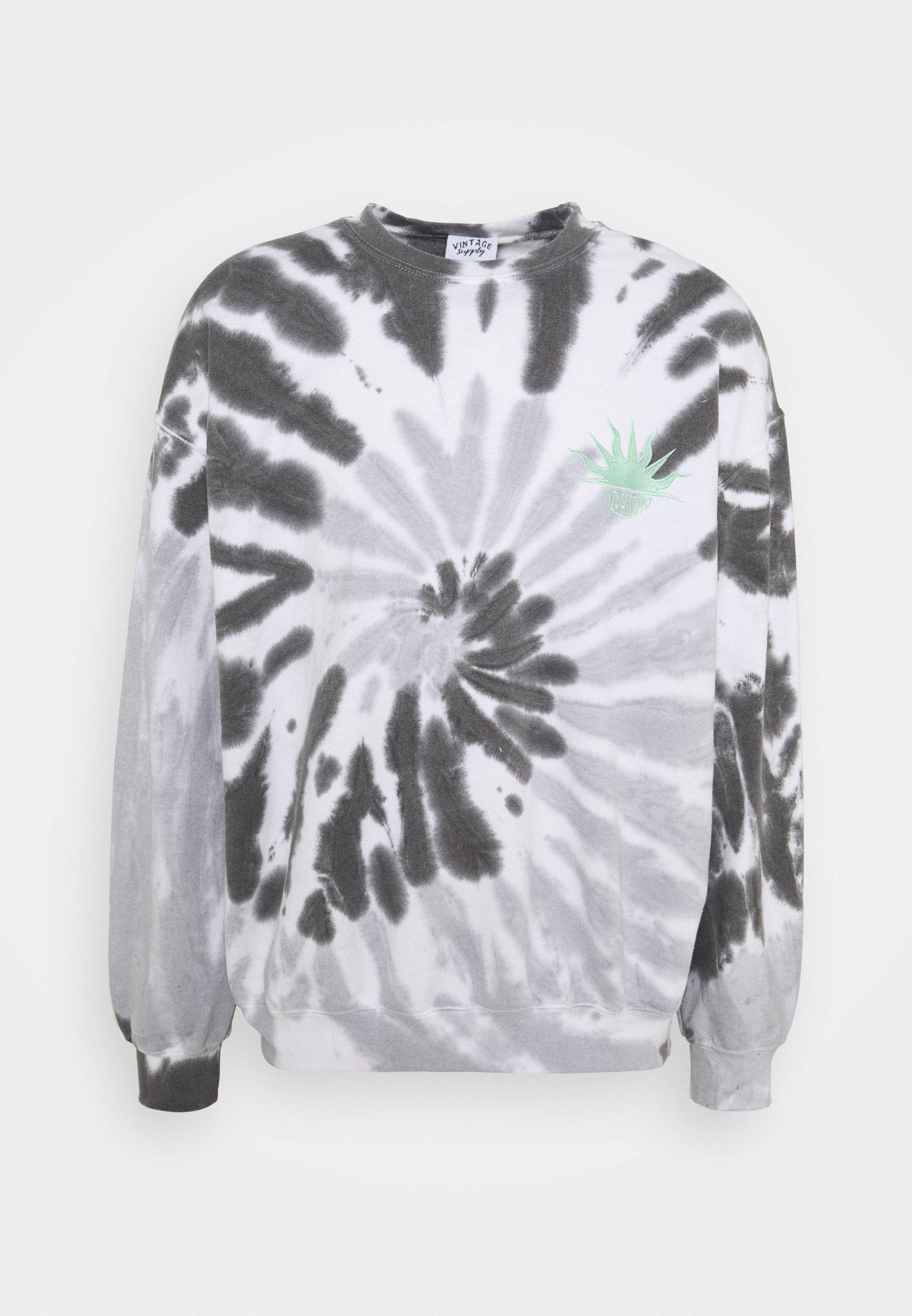 Women SPIRAL MONCHROME SUN LOGO UNISEX - Sweatshirt