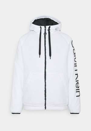 SHERPA ZIP HOODIE UNISEX - Light jacket - bright white