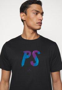 PS Paul Smith - MENS  - Print T-shirt - black - 3