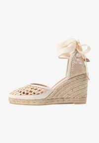 Castañer - CAROLA  - Sandály na vysokém podpatku - natural - 1
