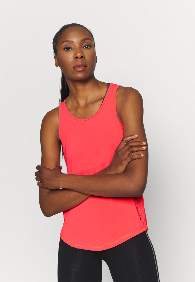 ONLY Play - ONPPERFORMANCE TRAINING  - Sports shirt - fiery coral/black