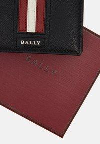 Bally - TEISEL UNISEX - Wallet - black/bone/red - 3