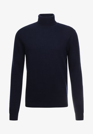 BASIC ROLL NECK - Maglione - navy