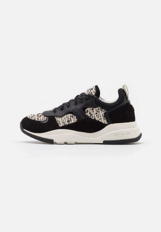 NARRA - Sneakers laag - black