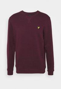 Lyle & Scott - CREW NECK  - Sweatshirt - burgundy - 5